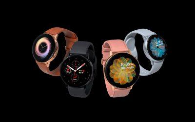 Samsung lanzó su nuevo reloj inteligente Galaxy Watch Active2